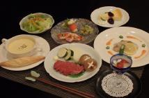 【平日限定】和洋折衷コース料理を楽しむプラン